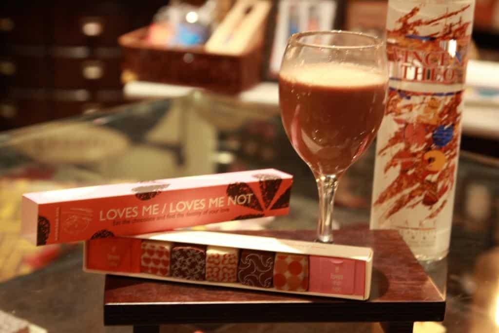 אלכוהול ושוקולד