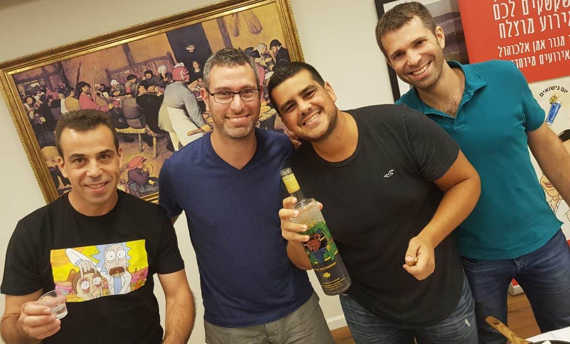 סדנת אלכוהול במסיבת רווקים
