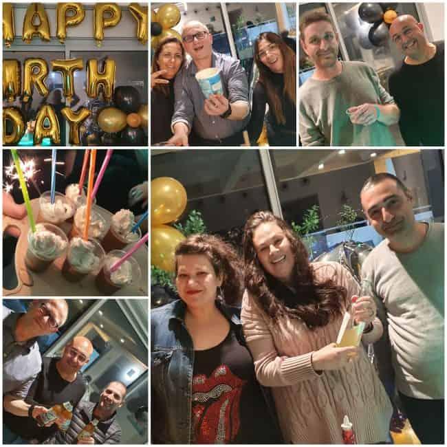 רעיון לחגיגית יום הולדת